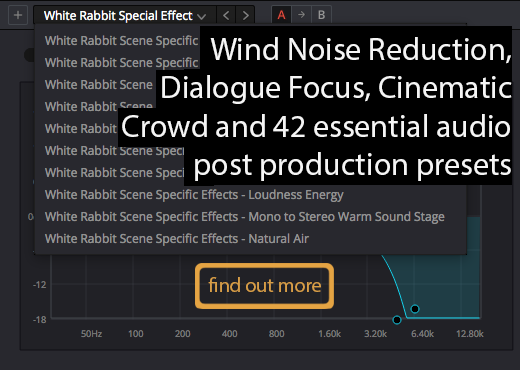 white rabbit audio pack v1